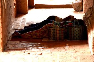 Photo: Year 2 Day 57 - Sleeping in  Dhammayan Gyi Temple
