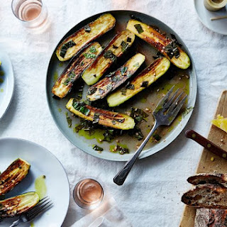 Canal House'S Marinated Zucchini Recipe