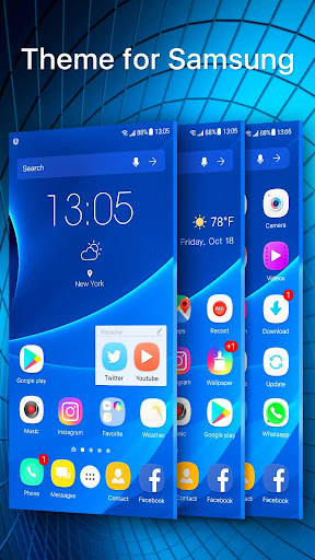 S9 launcher theme &wallpaper Apk 1