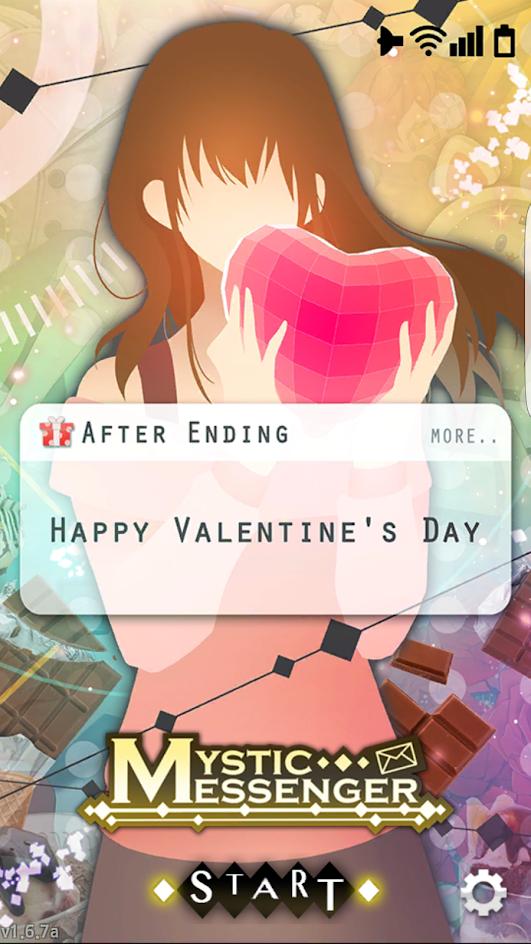 Talk About Random Mystic Messenger Valentine Special