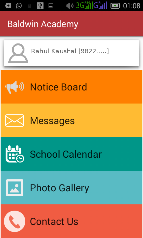 Baldwin Academy, Patna- screenshot