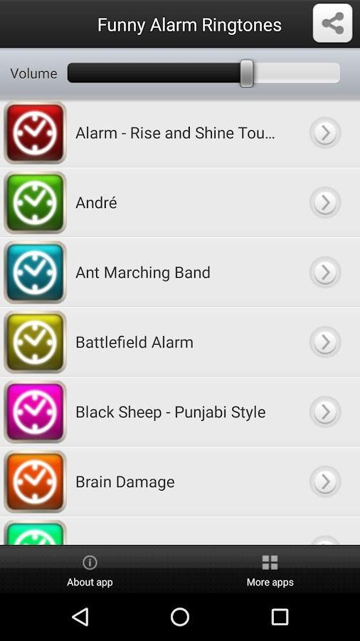 Funny Alarm Ringtones- screenshot