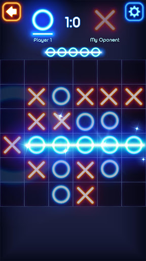 Tic Tac Toe Glow 7.4 screenshots 4
