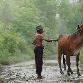 Still Hungry by Jayadi Salim - People Portraits of Men