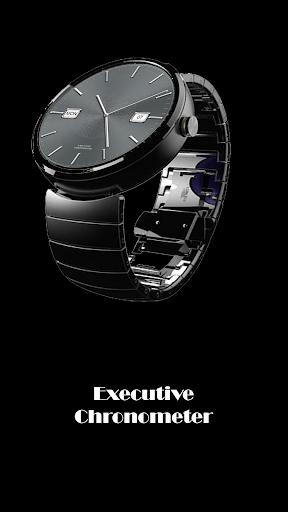 Executive Platinum watchface