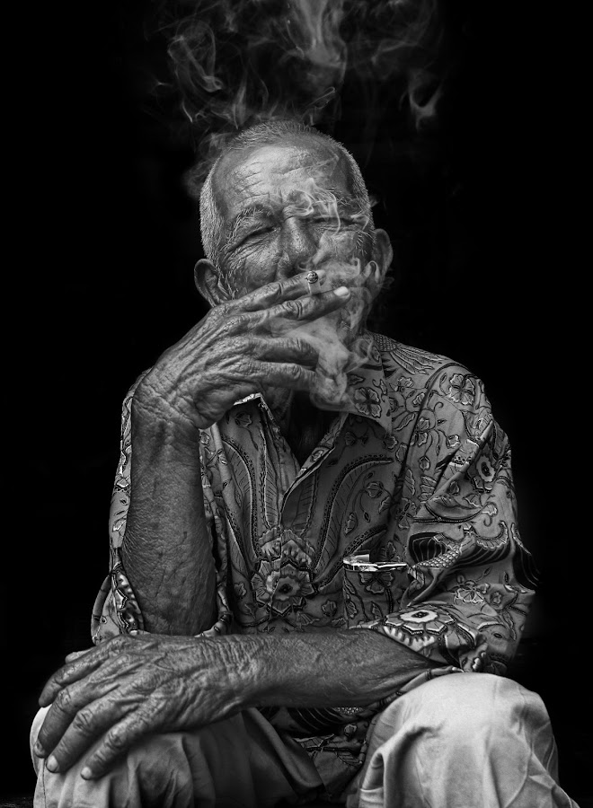 by Oji Blackwhite - People Portraits of Men