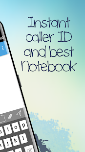 Free CallerID with Notebook - náhled