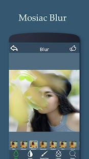 blur background photo editor - náhled
