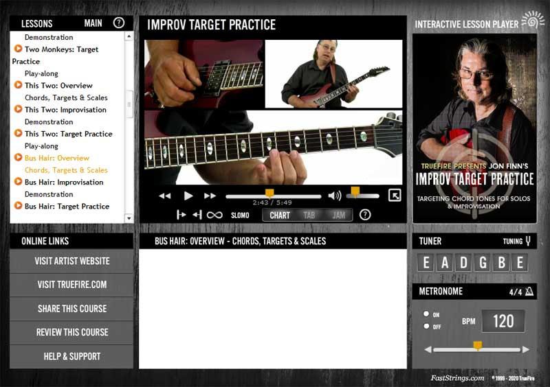 Jon Finn - Improv Target Practice