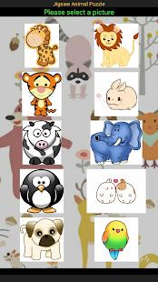Jigsaw Animal Puzzle - náhled