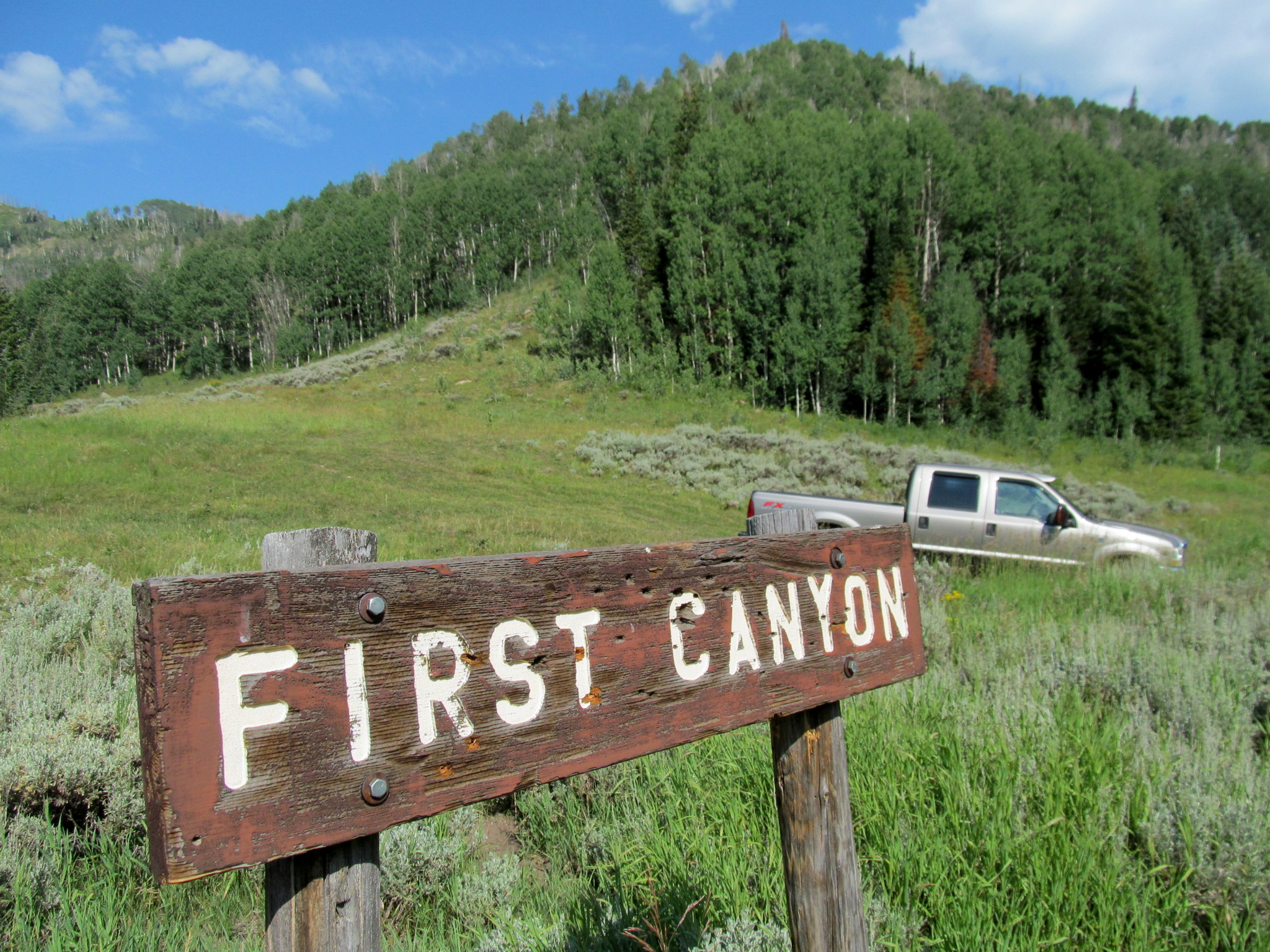 Photo: First Canyon