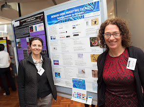 "Photo: Arianna Nenci and Jeanette Rientjes, ""Monash Gene Targeting Facility: Targeting Animals for Success"""