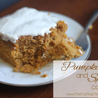 Pumpkin and Spice Cake.