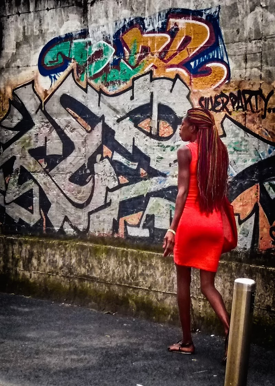 The woman in red di ocram69