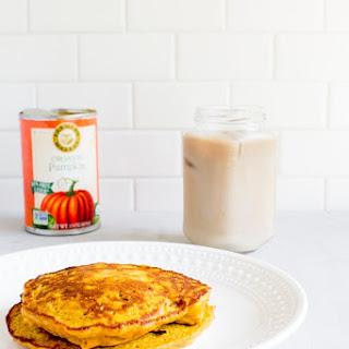 Single-Serving Pumpkin Oatmeal Pancakes