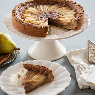 Pear Hazelnut Tart