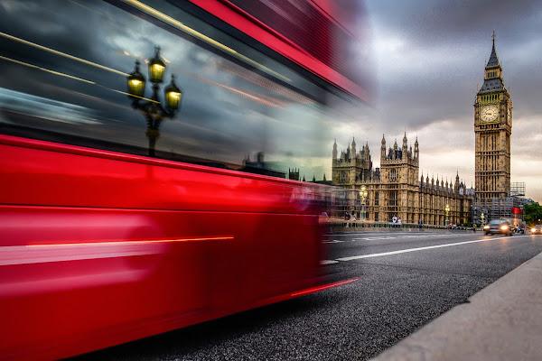 La traccia di un movimento - London 2017 di silviagrungo