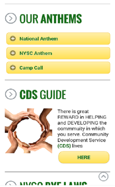 NYSC MOBILE APP-Official- screenshot