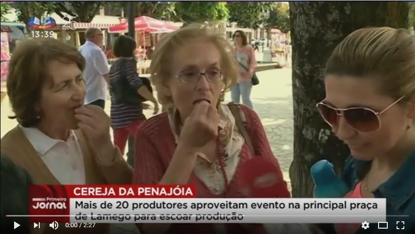 Vídeo - Cereja de Penajóia - SIC - 2017