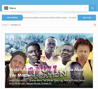 GhanaSky GTV, Adom TV screenshot 8