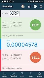 ProfitPump Bot Bittrex - Pump faster than anyone! - náhled