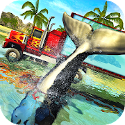 Game Blue Sea Whale Transport Truck Simulator APK for Windows Phone