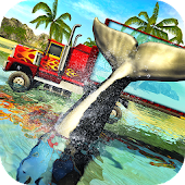 Blue Sea Whale Transport Truck Simulator