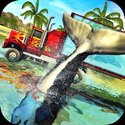 Blue Sea Whale Transport Truck Simulator