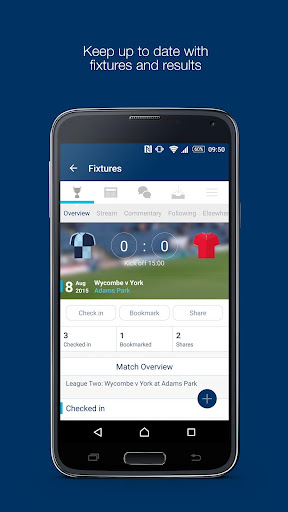 Fan App for Wycombe Wanderers