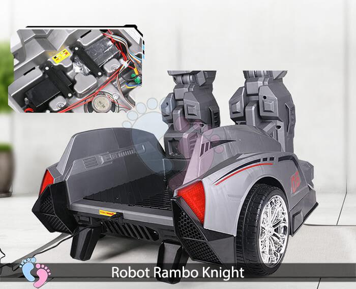 Siêu phẩm Robot Rambo Knight Cho bé 15