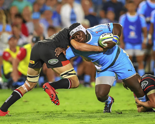Performing: Bulls prop Trevor Nyakane has been playing wonderful rugby, says Bok coach Rassie Erasmus. Picture: GALLO IMAGES