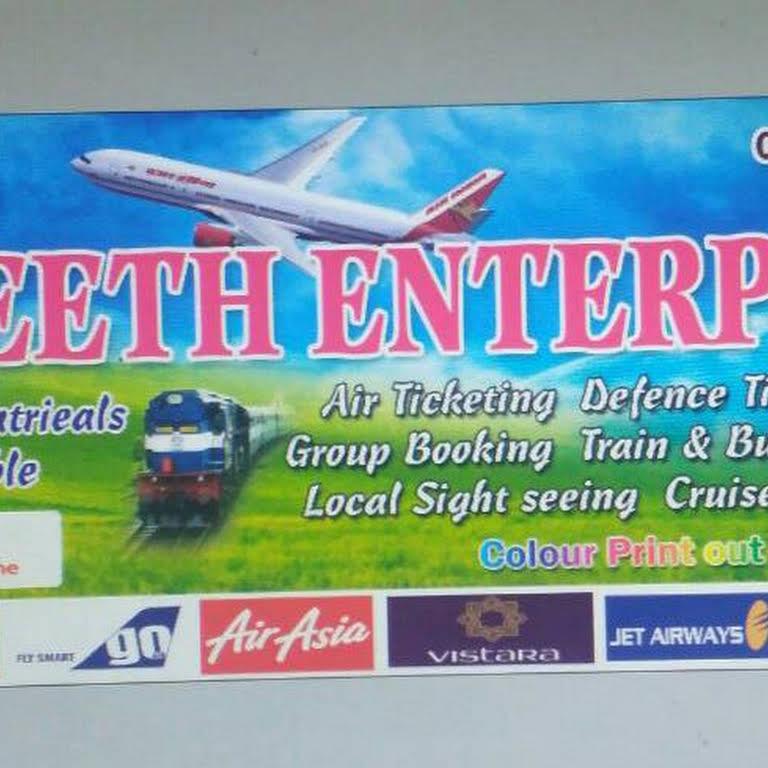 NAVANEETH ENTERPRISE - Airline &Train Ticket Agency