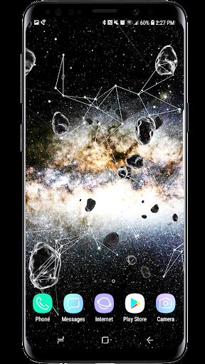 Space Particles 3D Live Wallpaper  screenshots 3