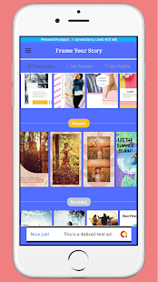 Download Frame Your Story - Birthday Anniversary Insta etc For PC Windows and Mac apk screenshot 6