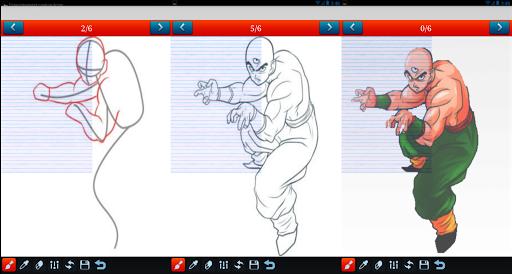 玩免費遊戲APP|下載How to draw Dragon Ball Z DBZ app不用錢|硬是要APP