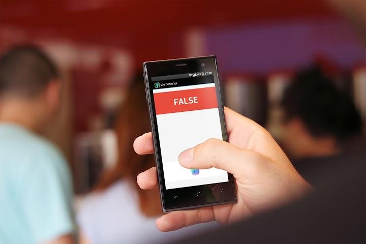 android Détecteur de mensonge Screenshot 1