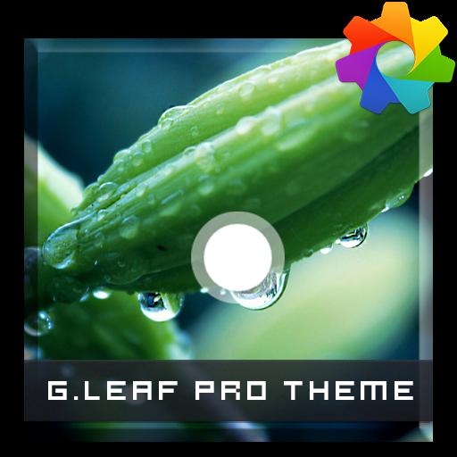 Green Leaf Theme For Xperia