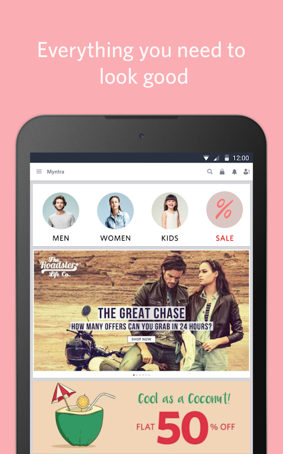 Myntra Online Shopping App - Android Apps on Google Play