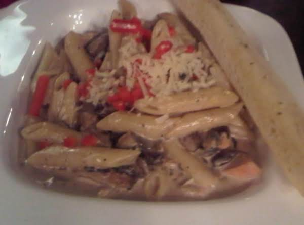Wild Mushroom And Chicken Penne Recipe