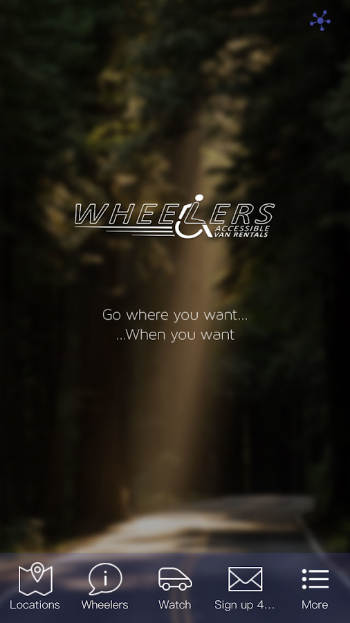 Wheelers Van Rentals- screenshot
