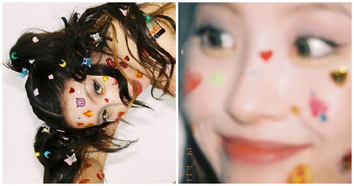 Sunmi Covers Her Entire Body with Stickers for New Teaser