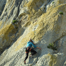 Fotos de escalada deportiva en Cañete La Real, Málaga(Andalucía).