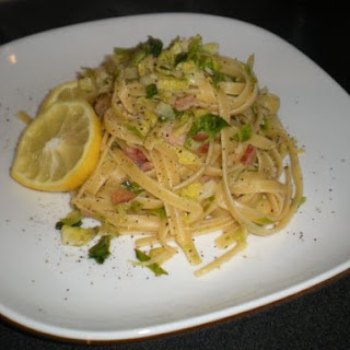 Linguine With Brussels Sprout