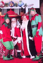 Photo: Hire a Santa - Mrs Claus or Elves CALL 214 321 8118 or e mail info@customcomedy.net
