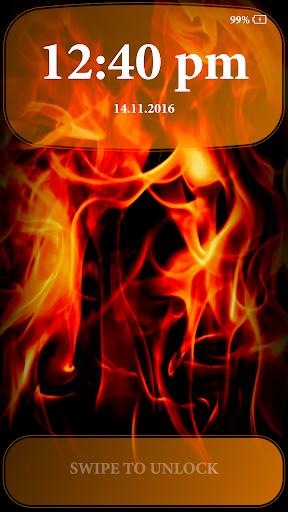 Fire Lock Screen 2.4 screenshots 5
