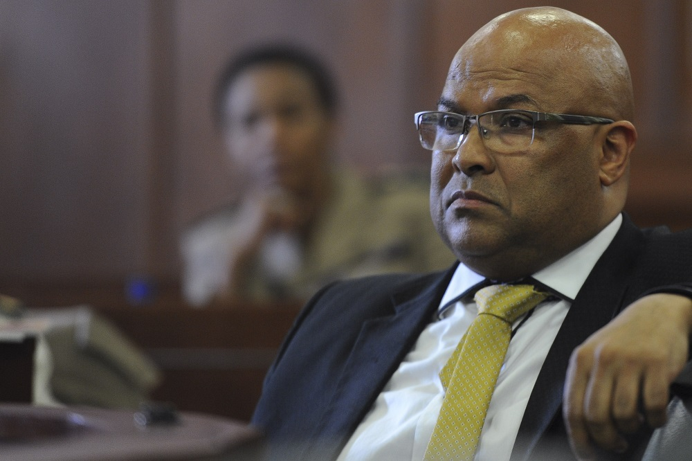 Former spy boss Arthur Fraser opposes candidacy of Raymond Zondo for chief justice