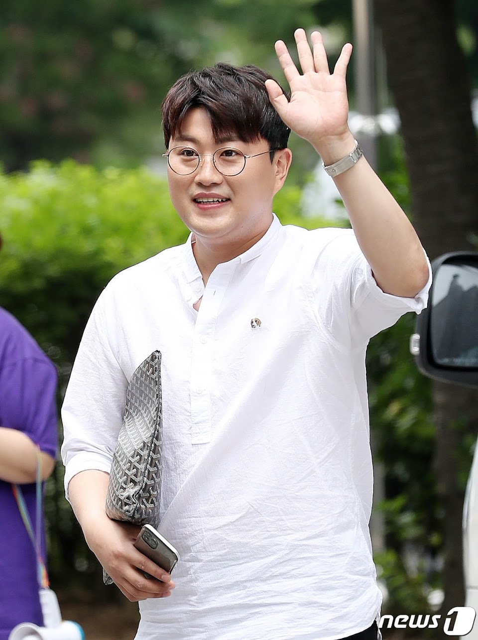 김호중 '불후의 명곡 기대하세요!'