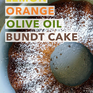 Lemon Orange Olive Oil Bundt Cake