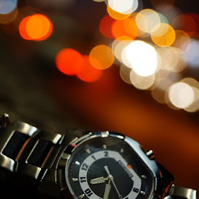 by Akshay Bhondokar - Products & Objects Technology Objects ( fastrack, watch, bokeh )