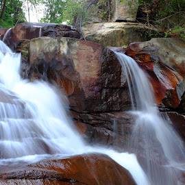 Water Cascade by Michael Lee - Nature Up Close Water